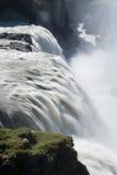 Wasserfall Gullfoss stockfoto