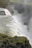 Wasserfall Gullfoss Lizenzfreie Stockfotos