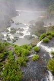 Wasserfall Iguacu Stockfoto