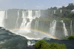 Wasserfall Iguacu Stockbild