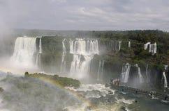 Wasserfall Iguacu Stockfotografie