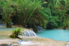 Wasserfall im Dschungel, kuangsi Lizenzfreies Stockbild