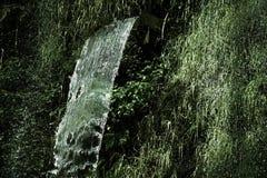 Wasserfall im Dschungel war dicht lizenzfreie stockbilder