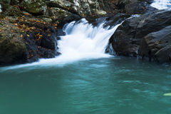 Wasserfall im huahin stockfoto