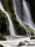 Wasserfall im pazifischen Nordwesten stockbilder