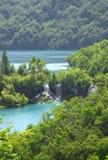 Wasserfall im Plitvice See (Plitvicka jezera) Lizenzfreies Stockfoto