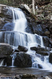 Wasserfall im rauchigen Nationalpark Stockfotografie