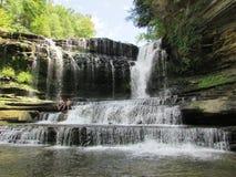 Wasserfall im Smokies Lizenzfreies Stockfoto