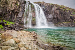 Wasserfall, Island Stockfoto