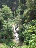 Wasserfall in Italien Stockfotografie