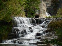 Wasserfall in Ithaca, NY stockfoto