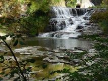 Wasserfall in Ithaca, NY lizenzfreies stockfoto
