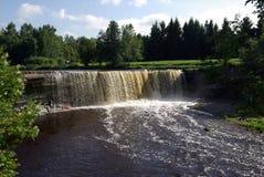 Wasserfall Jagala Lizenzfreie Stockbilder