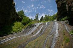 Wasserfall in Jermuk, Armenien stockbilder