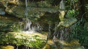 Wasserfall 4k stock video footage