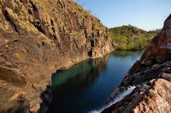 Wasserfall in Kakadu Stockfotografie