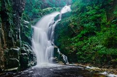 Wasserfall Kamienczyk Stockbilder