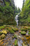 Wasserfall Kamienczyk in Polen Stockfoto