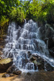 Wasserfall Kanto Lampo auf Bali-Insel Indonesien Lizenzfreies Stockfoto