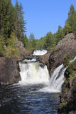 Wasserfall Kivach Lizenzfreies Stockfoto