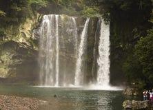 Wasserfall in Korea Lizenzfreies Stockbild