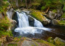 Wasserfall Krai Woog Gumpen stockbild