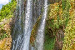 Wasserfall Krcic-Nahaufnahme Lizenzfreie Stockbilder