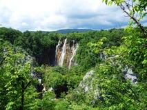 Wasserfall in Kroatien Stockfotos