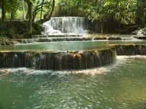 Wasserfall Kuang Si Stockfoto