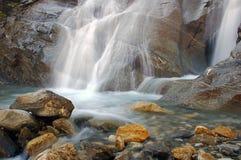 Wasserfall-Landschaft Stockbild