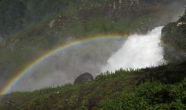 Wasserfall Latefossen Stockbilder