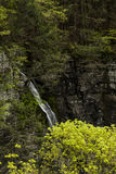Wasserfall - lecken Sie Bach-Schlucht - Sweedler-Park - Ithaca, New York Stockbild