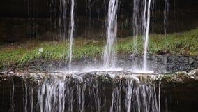 Wasserfall Ledge Splash Loop stock video footage