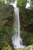 Wasserfall in Lillafured Stockfotografie