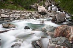 Wasserfall Lillaz Stockfoto