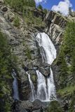 Wasserfall in Lillaz-Kaskade Stockfotos