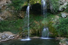 Wasserfall Lisine, Serbien Stockbild