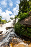 Wasserfall Mae Klang, Thailand lizenzfreies stockfoto