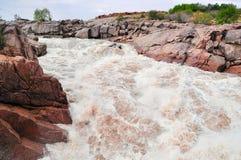 Wasserfall Magnificient Augrabies Lizenzfreies Stockbild