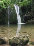 Wasserfall in Malhamdale, Janets Foss Lizenzfreies Stockbild