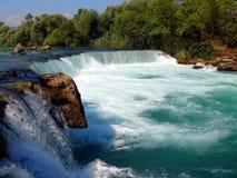 Wasserfall Manavgat lizenzfreie stockbilder