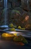 Wasserfall in Menzenchwand Lizenzfreie Stockfotografie