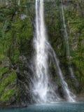 Wasserfall Milford-Töne Lizenzfreie Stockfotografie