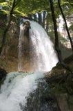 Wasserfall nach Regen Lizenzfreies Stockfoto