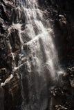 Wasserfall nahe Kaprun - Zell morgens sehen, Österreich Stockbilder