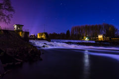 Wasserfall nahe Lingen Lizenzfreie Stockfotografie