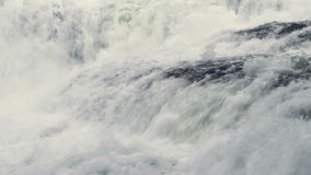 Wasserfall-nahes hohes stock footage