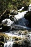 Wasserfall in Nationalpark Jiuzhaigou von Sichuan China Lizenzfreies Stockfoto