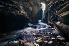 Wasserfall-Nebenfluss Stockfotografie