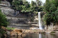 Wasserfall in Neuseeland Lizenzfreies Stockfoto
